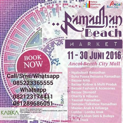 Ramadhan Beach Market 2016 Ancol Beach City Mall