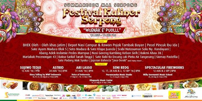 Festival Kuliner Serpong 2016 - FKS 2016