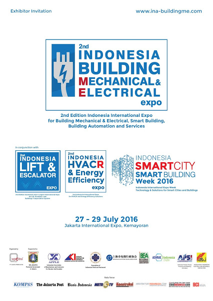 Indonesia Building Mechanical & Electrical Expo 2016