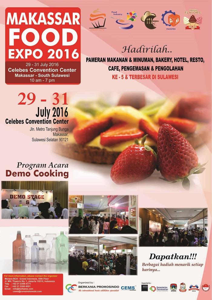 MAKASSAR FOOD EXPO 2016