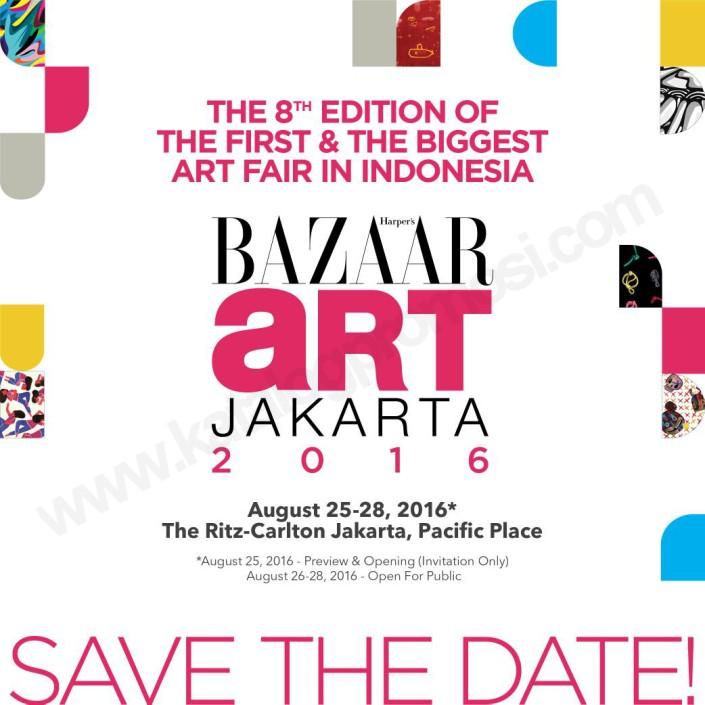 BAZAAR ART JAKARTA 2016