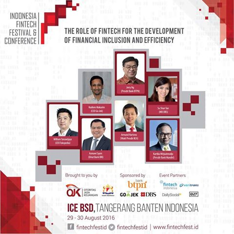 Indonesia Fintech Festival and Conference 2016