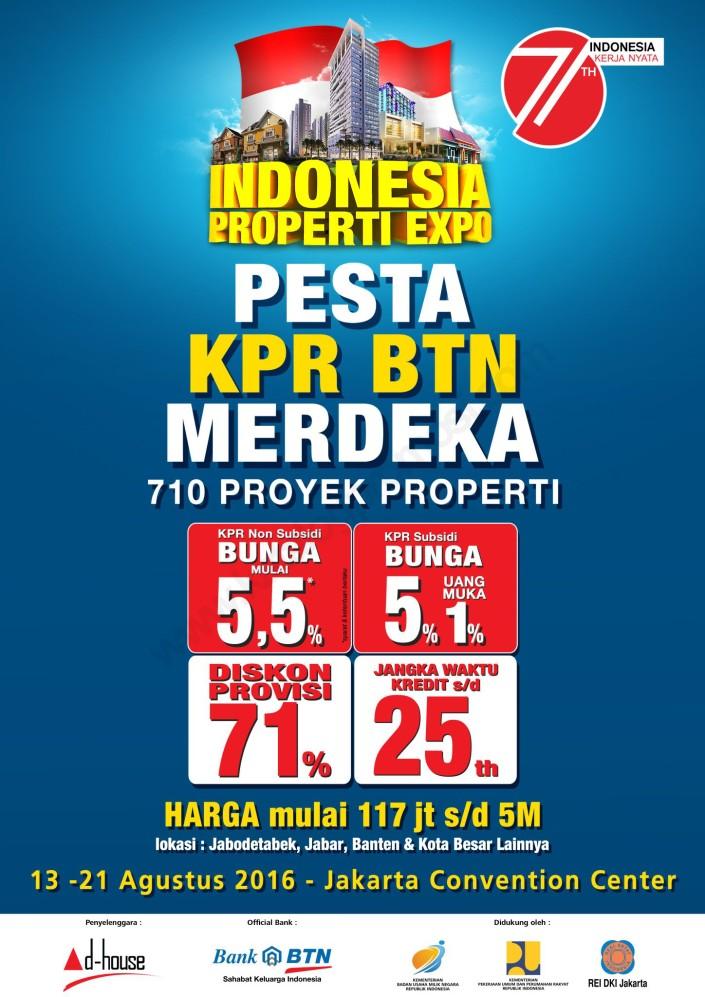 Indonesia Property Expo (IPEX) 2016 - KPR BTN
