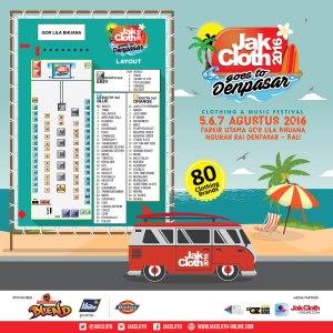 Jakcloth goes to Denpasar