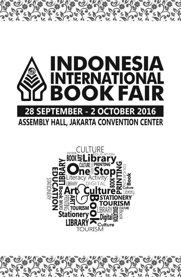 Indonesia International Book Fair 2016 171 Informasi Pameran Event Dan Bazaar Indonesia
