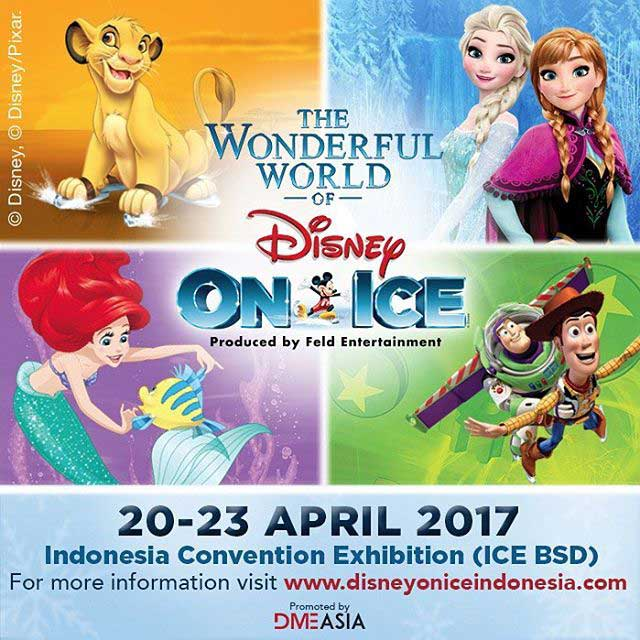 The Wonderful World Of Disney On Ice At Indonesia Convention