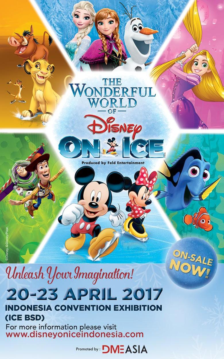 The Wonderful World Of Disney On Ice Bsd 2017 Informasi Pameran