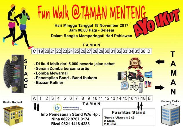 Fun Walk Taman Menteng 18 November Rossrightangle