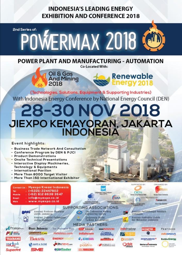 2nd powermax 2018