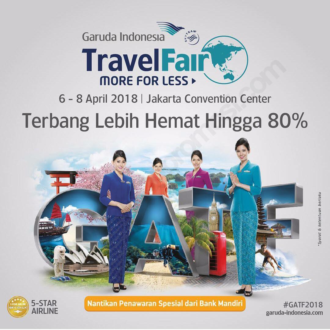 Garuda Indonesia Travel Fair 2018 171 Informasi Pameran