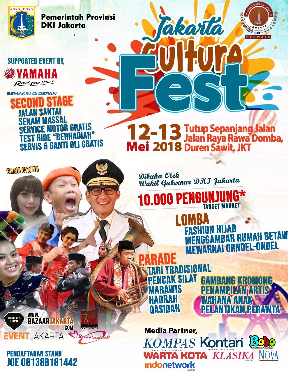 Jakarta culture Fest 2018 « Informasi Pameran, Event, dan Bazaar Indonesia